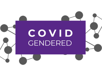 COVID Gendered Post Banner